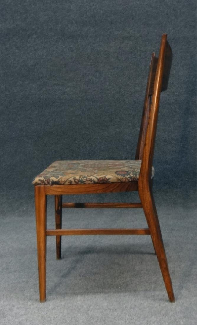 6 PAUL MCCOBB CHAIRS & TABLE W/ 2 LEAVES - 8