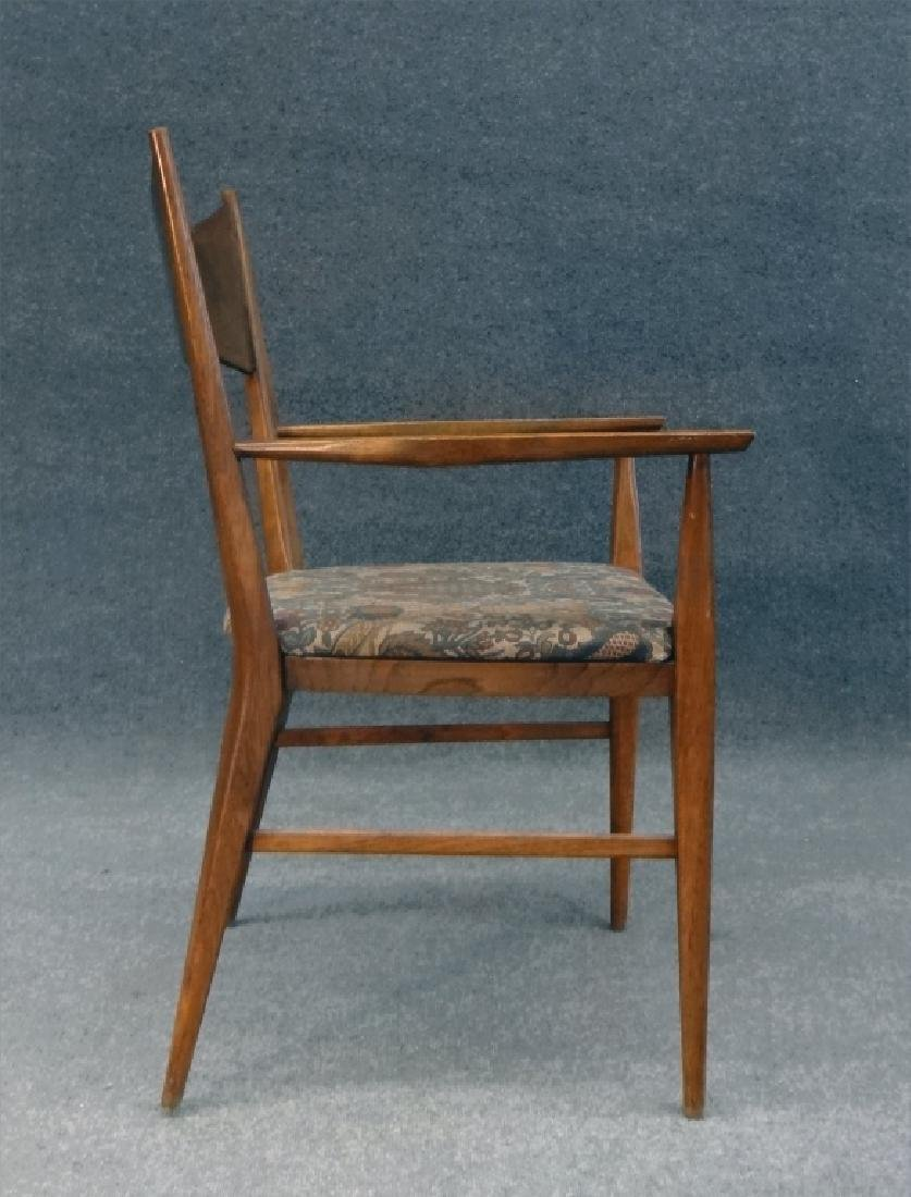 6 PAUL MCCOBB CHAIRS & TABLE W/ 2 LEAVES - 9
