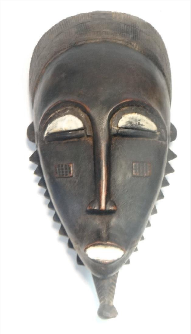GROUP OF GOLD COAST AFRICAN MASKES , 5 - 2