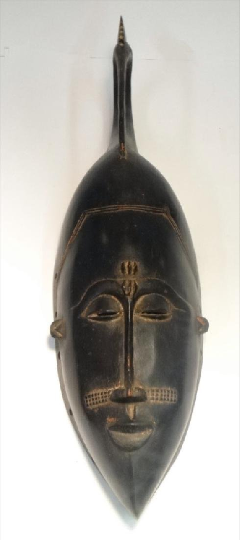 GROUP OF GOLD COAST AFRICAN MASKES , 5 - 5