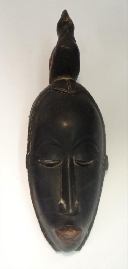 GROUP OF GOLD COAST AFRICAN MASKES , 5 - 9