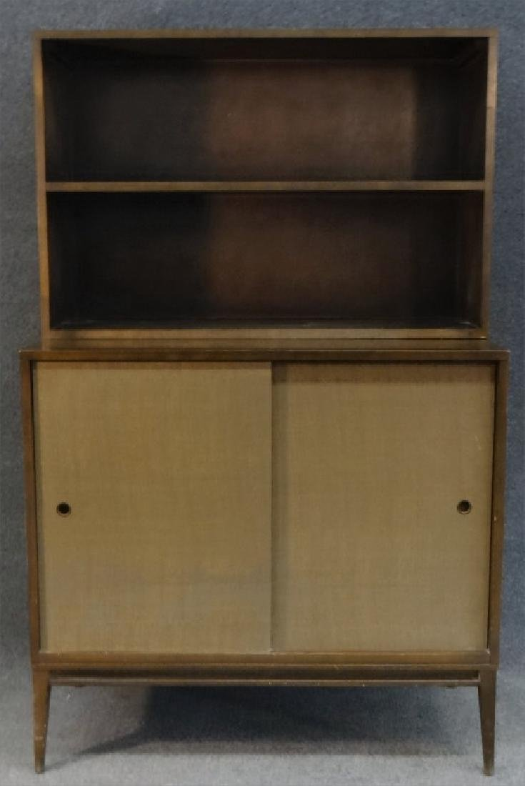 PAUL MCCOBB CABINET W/ OPEN SHELVING UNIT