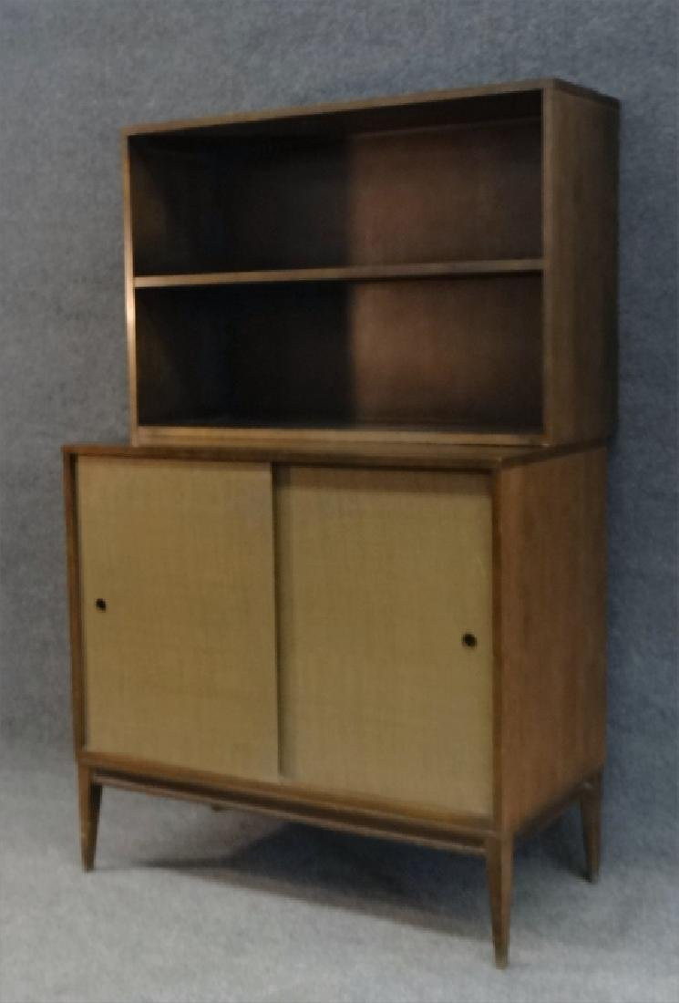 PAUL MCCOBB CABINET W/ OPEN SHELVING UNIT - 2