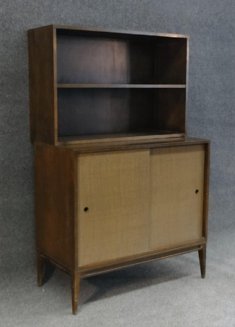 PAUL MCCOBB CABINET W/ OPEN SHELVING UNIT - 3