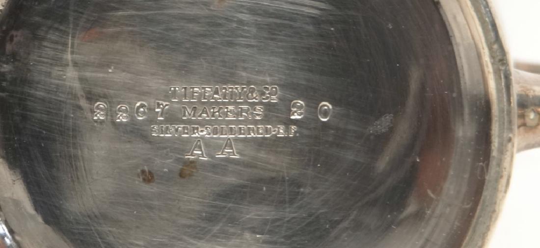 TIFFANY STERLING SILVER BEEKER & SILVER PLATED MUG - 3