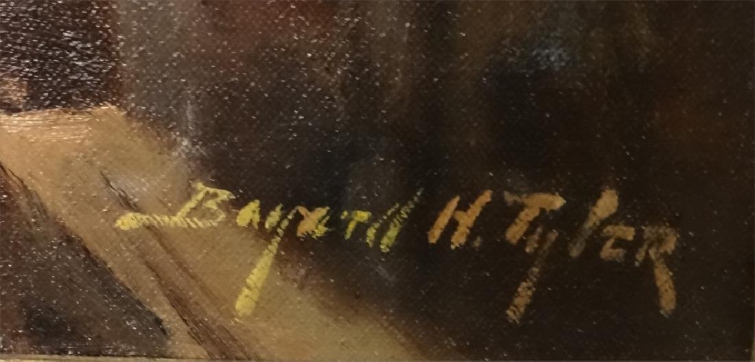 "O/C BAYARD H. TYLER ""THE PALISADES"" 24"" X 20"" - 4"