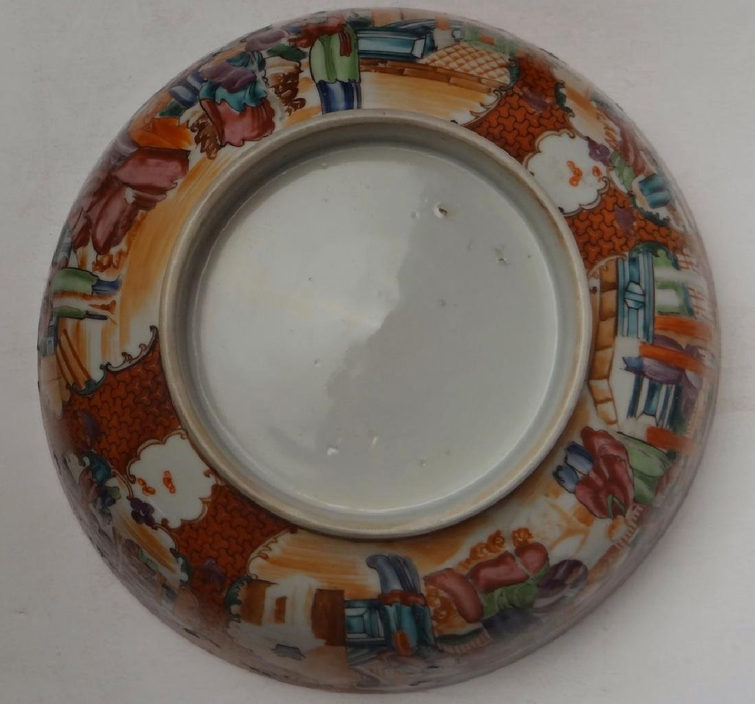 18THC. CHINA TRADE PUNCH BOWL DECORATED IN A - 5