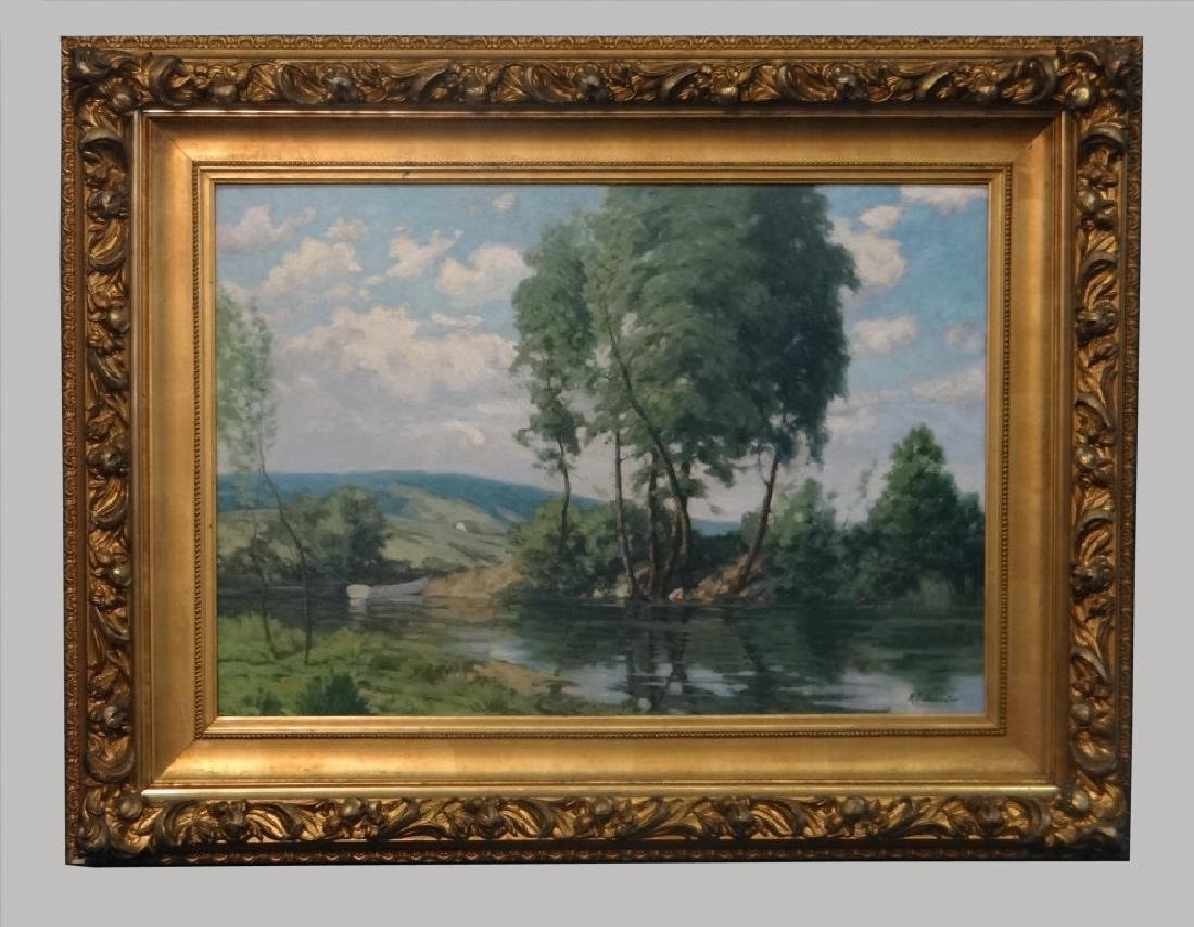 O/BD NEW ENGLAND LANDSCAPE, R.T. JOHNSTON