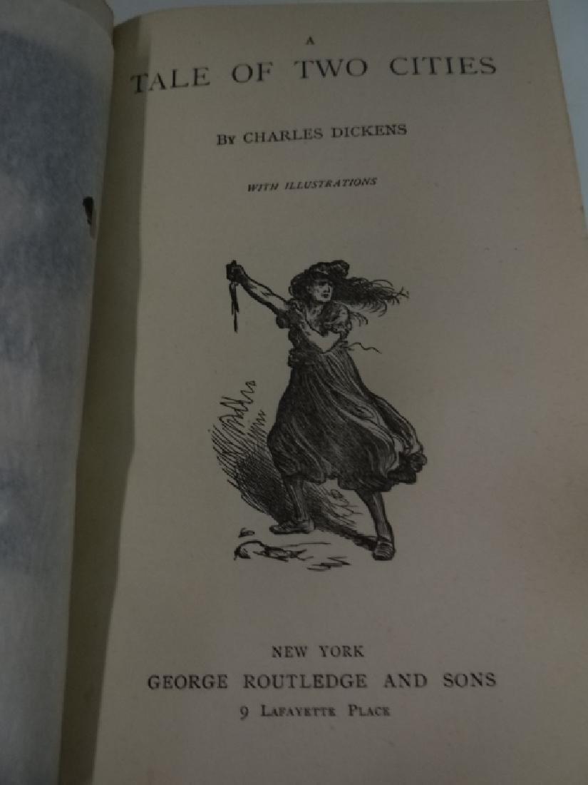 15 VOLUMES CHARLES DICKINS IN QUARTER BOUND - 5