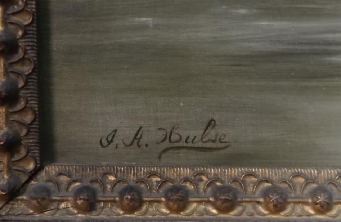 O/C LANDSCAPE NEAR PITTSFIELD MA SGND J.H. HULSE - 4