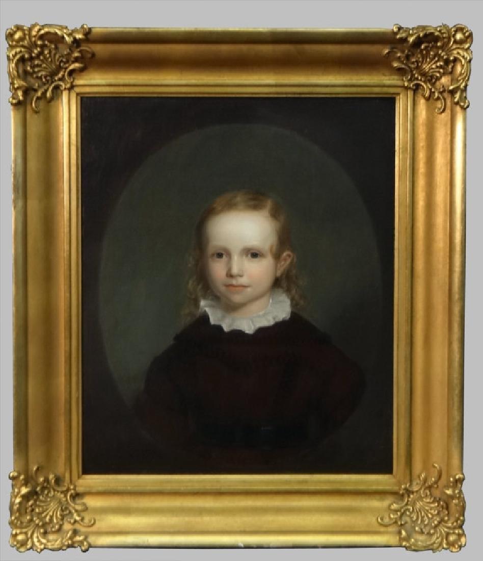 O/C PORTRAIT OF CILUS K. HANIC C.1830, UNSGND