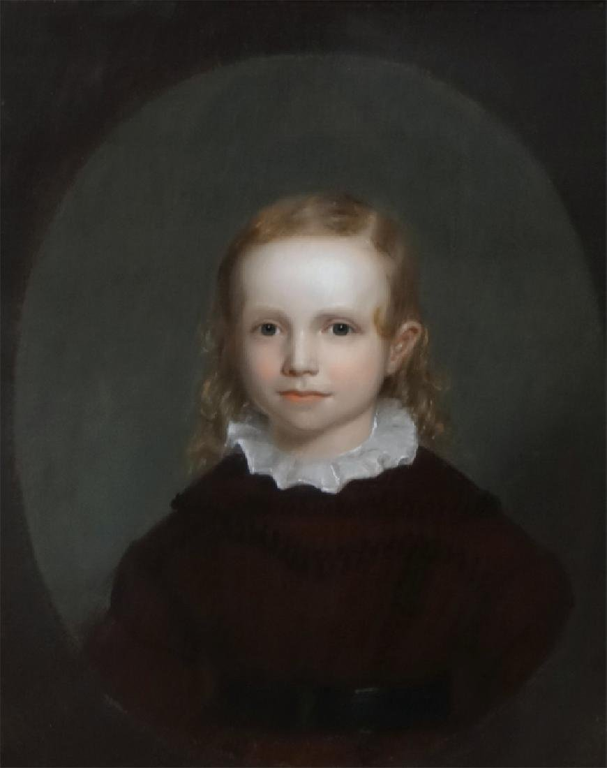 O/C PORTRAIT OF CILUS K. HANIC C.1830, UNSGND - 2
