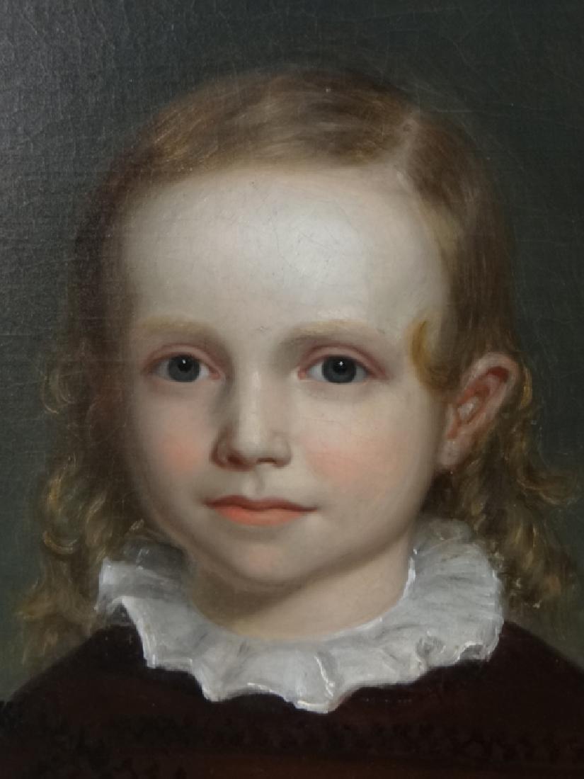 O/C PORTRAIT OF CILUS K. HANIC C.1830, UNSGND - 3