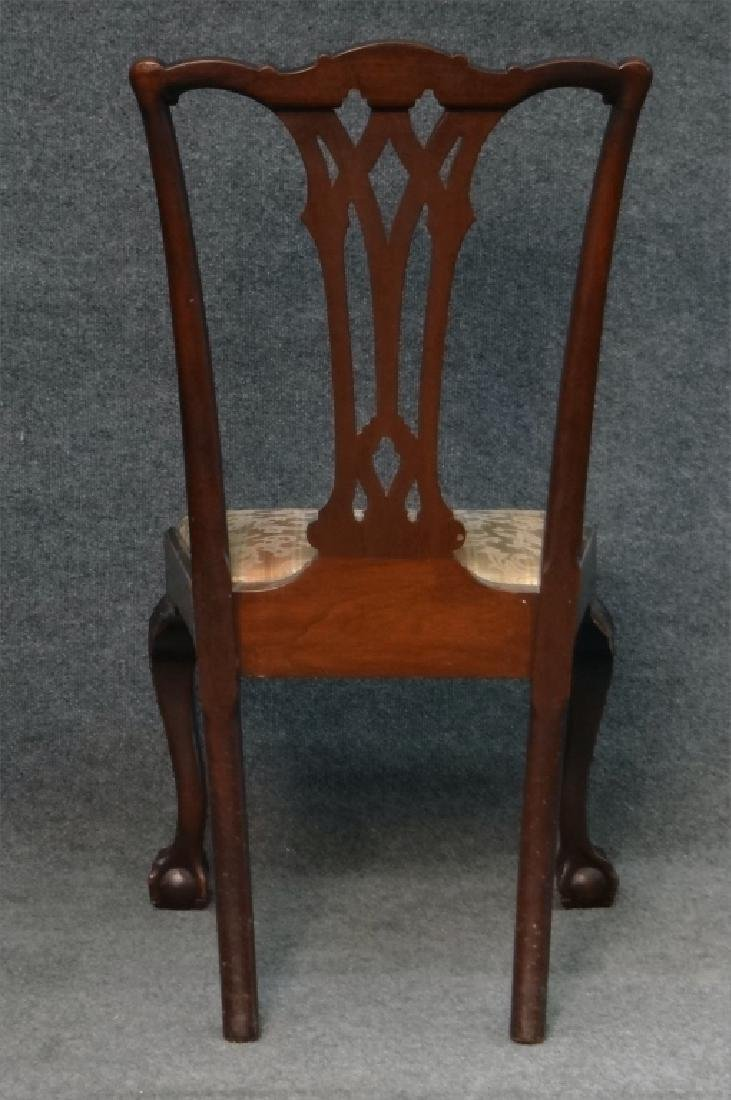 SET OF 7 CENTENNIAL CHIPPENDALE STYLE CHAIRS - 8