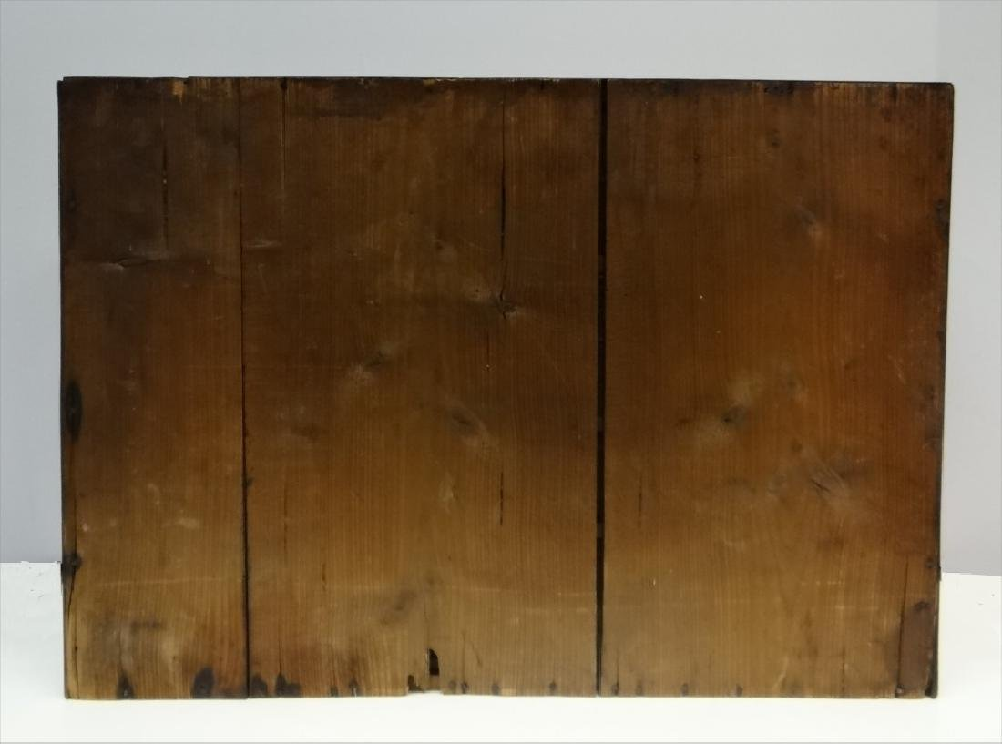 TABLE TOP ORGANIZER W/ DRAWERS & DOOR 19THC. ENG. - 5