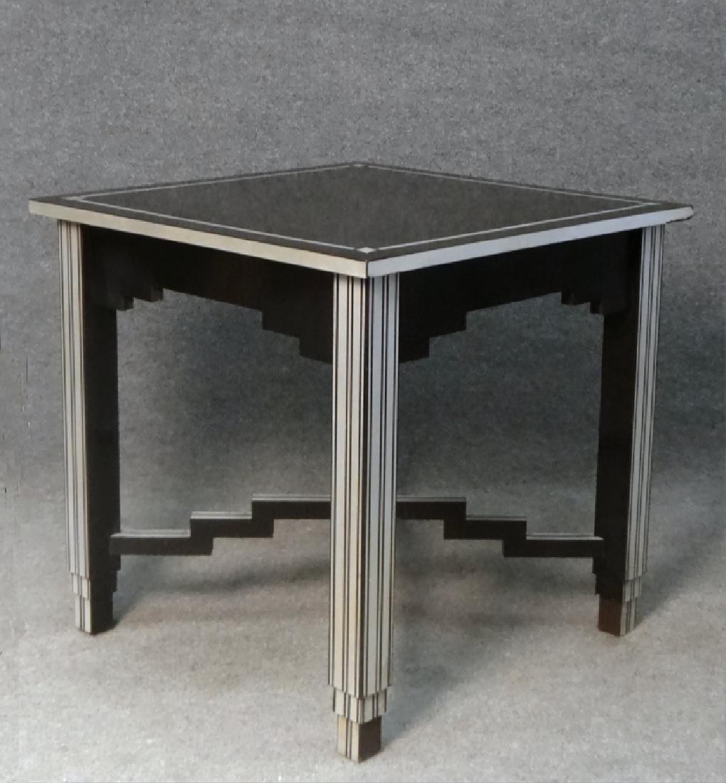 SKYSCRAPER TABLE, LAMINATE OVER WOOD - 3