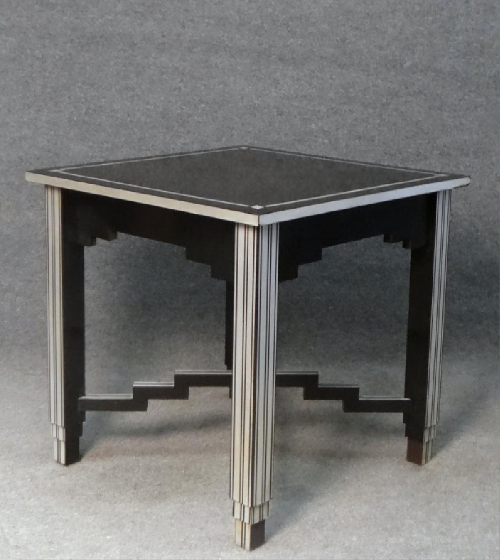 SKYSCRAPER TABLE, LAMINATE OVER WOOD - 5
