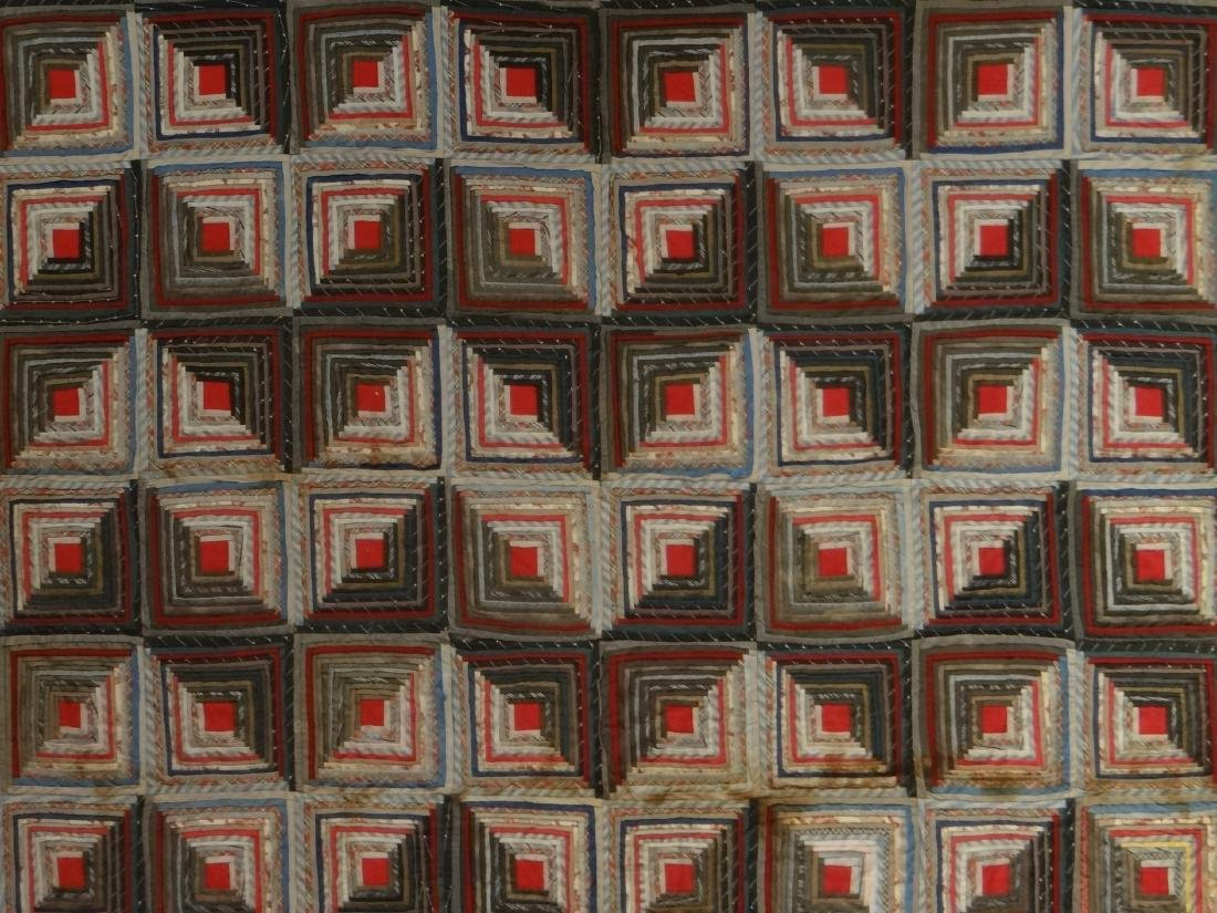 LOG CABIN QUILT, MINOR LOSS & SEPARATION - 2