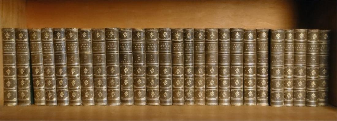 VOLUMES OF 19THC. BOOKS INC. DICKENS & LORD LYTTON