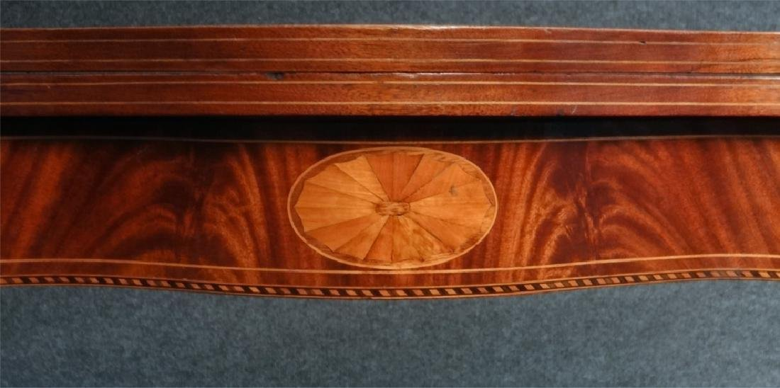 CENTENNIAL HEPPLEWHITE STYLE INLAID CARD TABLE - 7