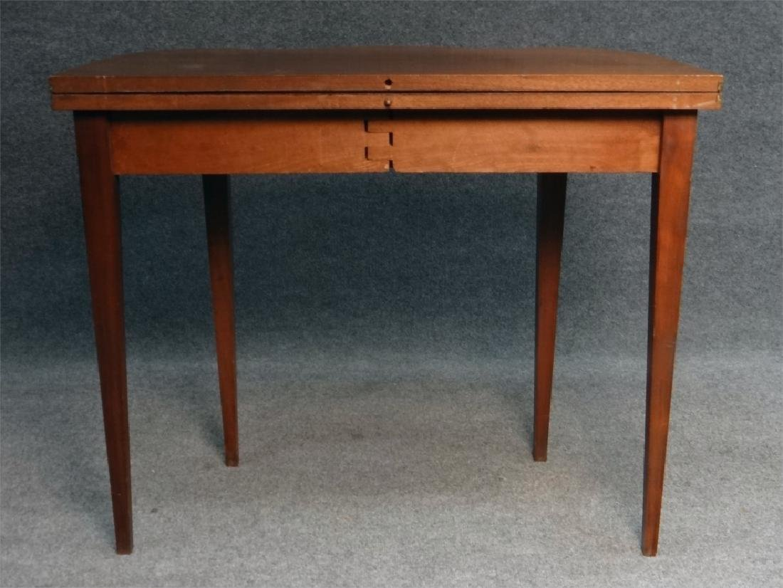 CENTENNIAL HEPPLEWHITE STYLE INLAID CARD TABLE - 8
