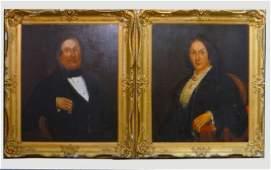 PR OF AMERICAN SCHOOL PORTRAITS C. 1850