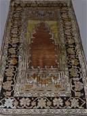SEMI ANTIQUE TURKISH PRAYER RUG 73 12 X 38