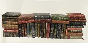 COLLECTION OF AUTOGRAPHED FRANKLIN LIBRARY BOOKS (43)