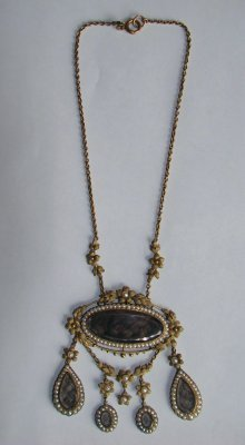11: Victorian Hair Necklace