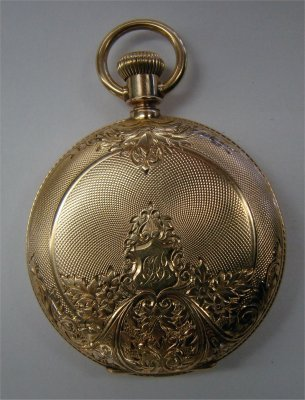18: 14K Gold Hunting Case Pocket Watch By Waltham