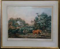 89 Large Folio Currier  Ives American Farm Scenes
