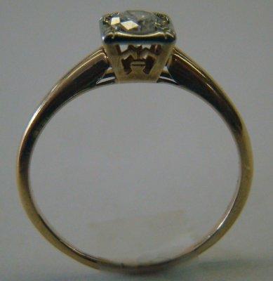 1: Diamond solitaire ring