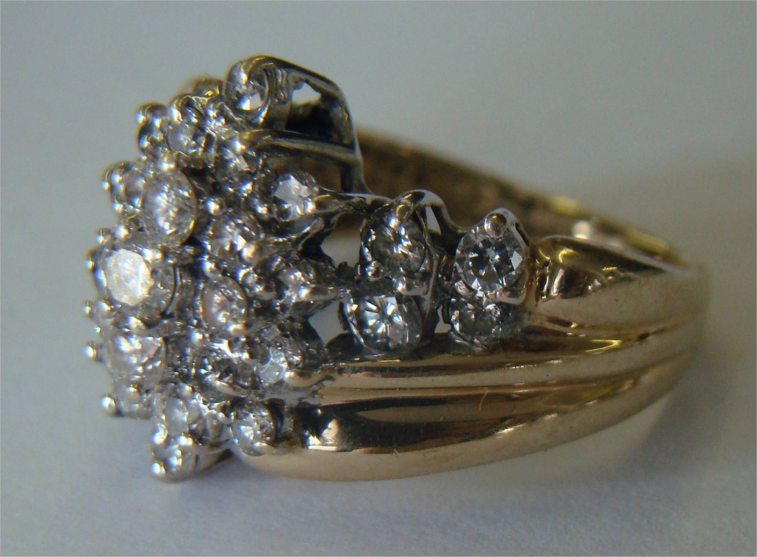 3: Diamond Cocktail Ring