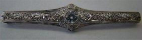 17: Diamond Bar Pin