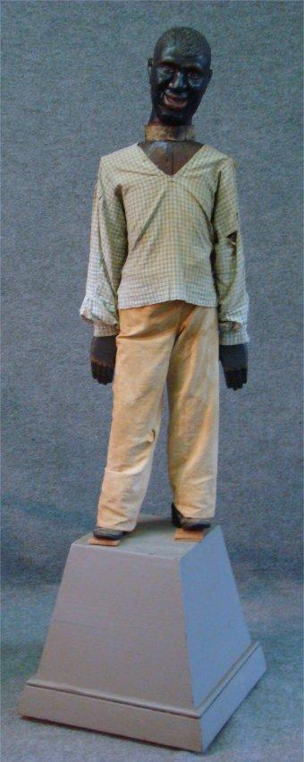 125: C. 1905 Tonawanda Fair Articulated Calliope Figure