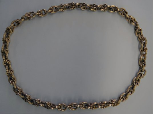 "30"" 14K Gold Chain Necklace, Approximately 49.5 Dwt"
