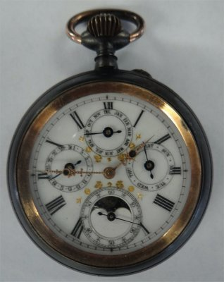 Complicated Movement Multi-Dial Pocket Watch