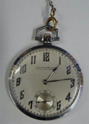 Platinum Cased Patek Philippe Pocket Watch