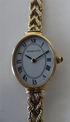 Tiffany & Co. 14K Gold Swiss Ladies Watch