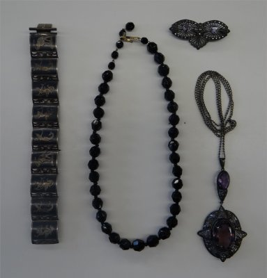 Victorian Jewelry (Four Pieces)