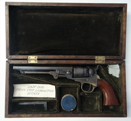 36 Caliber Colt Black Powder Revolver (Pocket Pistol),