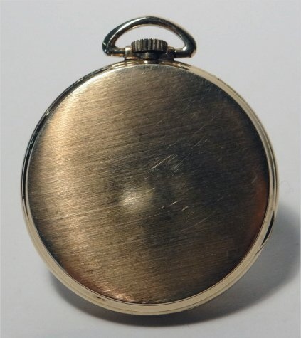 LONGINES TIFFANY & CO. GOLD FILLED POCKET WATCH - 5