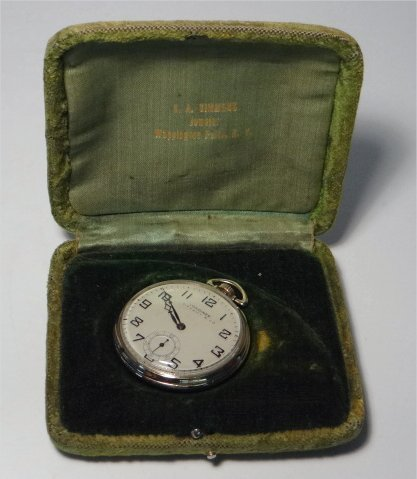 LONGINES TIFFANY & CO. GOLD FILLED POCKET WATCH - 7