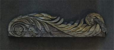 SHIP STERN BOARD CARVING 43 12 LONG