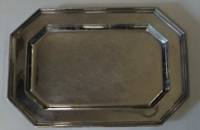 "Gorham 18"" Sterling Silver Tray 37 Troy Oz"