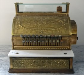 National Cash Register, $3.00 Max Button