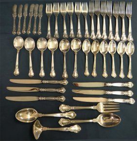 Serv. For 6 Gorham Sterling Flatware