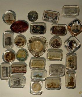 25 Paperweights Inc. T. Roosevelt,mckinley,