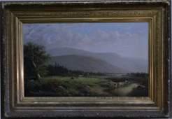 O/C HUDSON VALLEY LANDSCAPE SGND W. WALTON