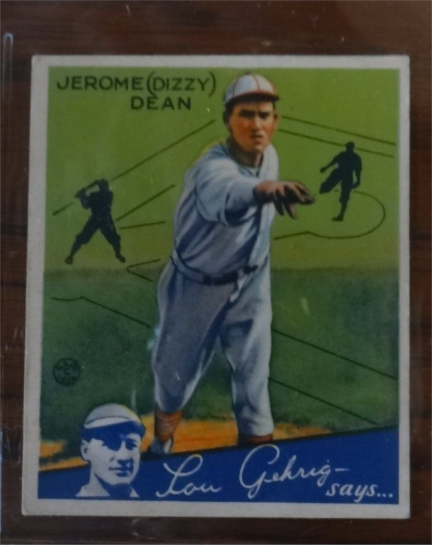 "1934 GOUDEY ""LOU GEHRIG SAYS"" BASEBALL CARDS (39) - 9"
